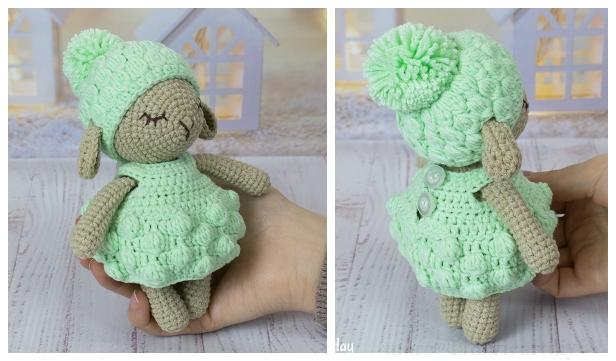 Crochet Minty Sheep Amigurumi Free Patterns