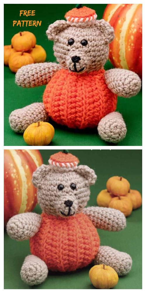 Free Crochet Pumpkin Pattern - Hooked On Patterns | 1000x500