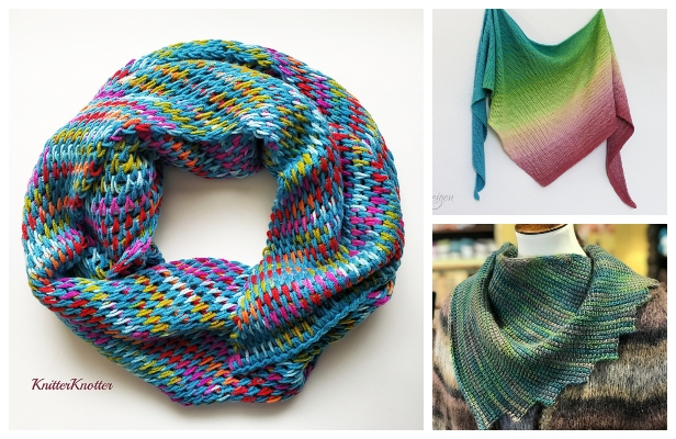 Reversible Tunisian Crochet Shawl Free Crochet Patterns