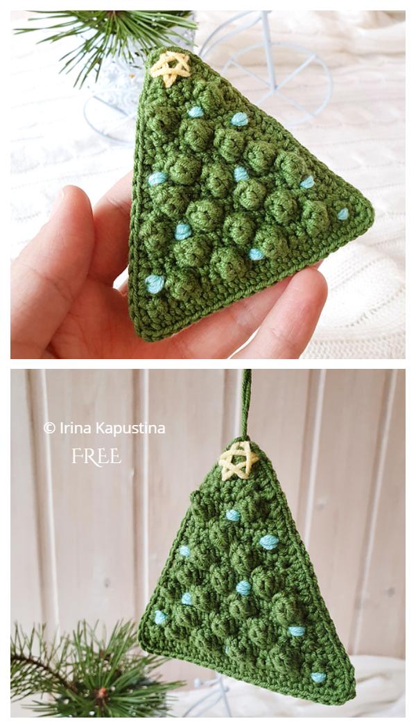 Bobble Christmas Tree Free Crochet Patterns