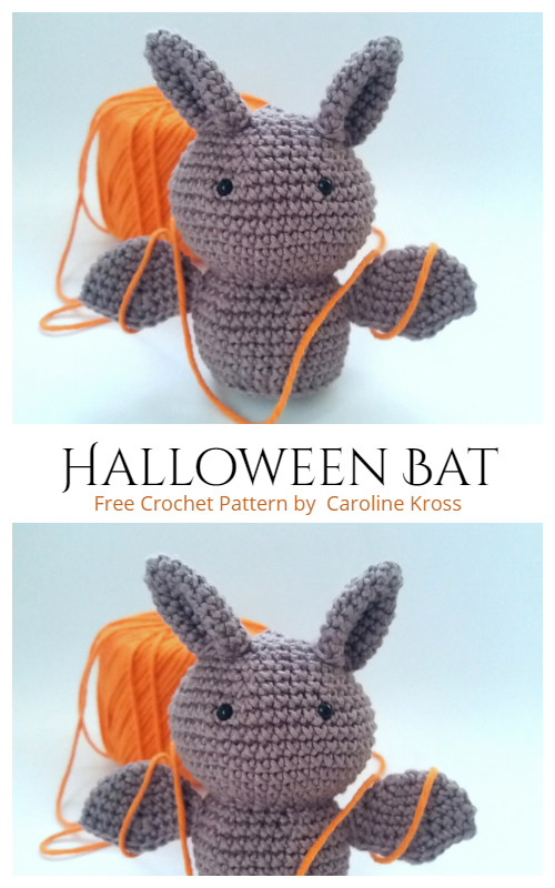 Crochet Halloween Bat Amigurumi Free Patterns