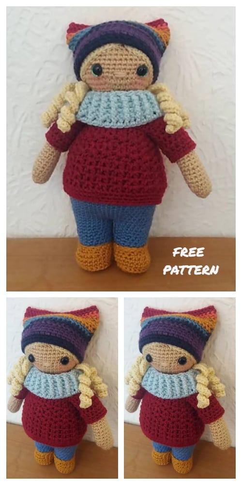 Amigurumi Noo Noo Doll Free Crochet Patterns