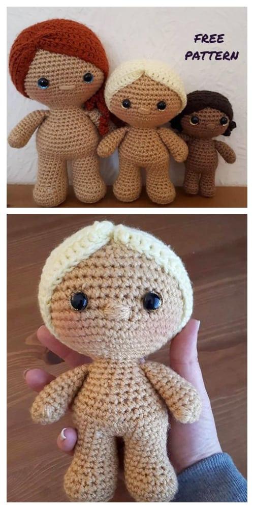 Amigurumi Little Weebee Doll Free Crochet Patterns