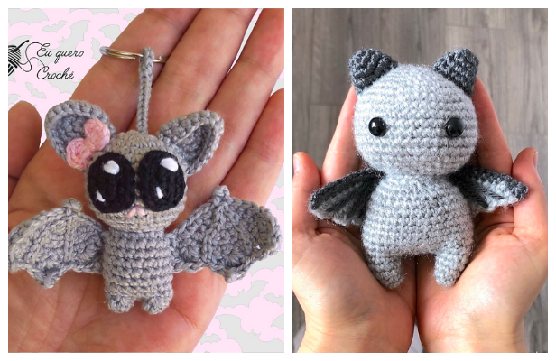 Halloween Crochet Bat Amigurumi Free Patterns