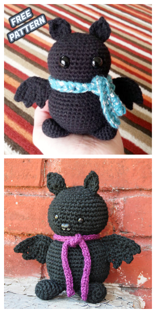 Halloween Crochet Brew the Bat Amigurumi Free Patterns