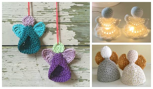 Easy Christmas Angel Ornament Free Crochet Patterns