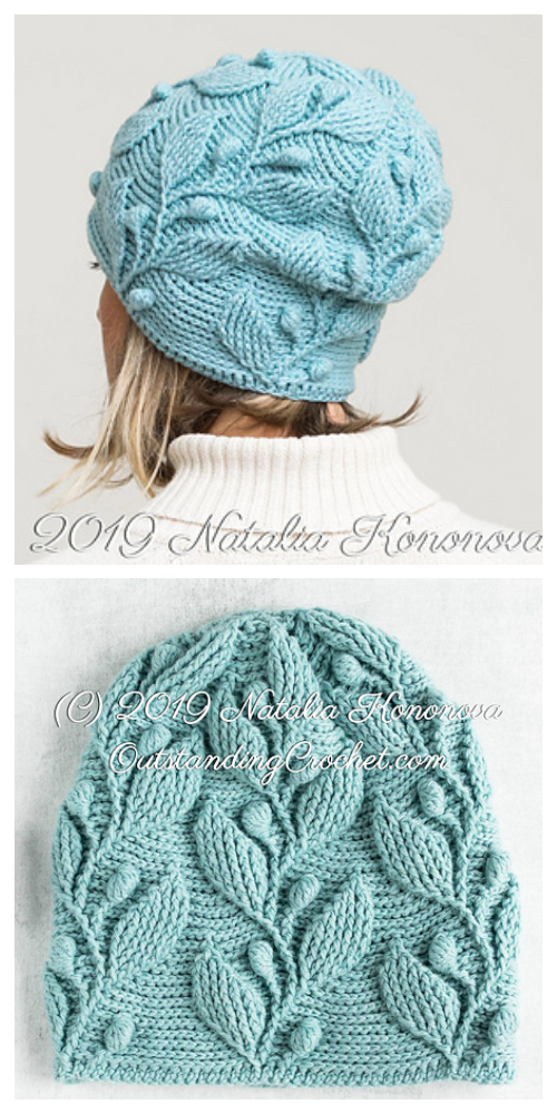 Climbing Vine Hat Crochet Patterns