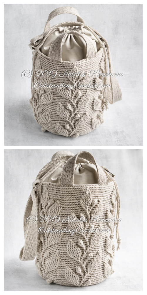 Climbing Vine Bag Crochet Patterns