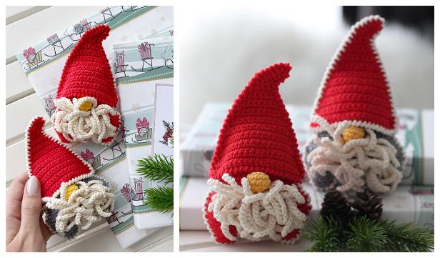 Crochet Christmas Gnomes Amigurumi Free Patterns