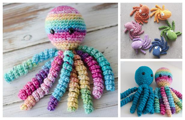 Crochet Preemie Octopus Amigurumi Free Patterns