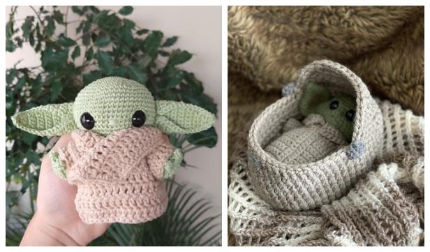 Amigurumi Baby Yoda Free Crochet Pattern