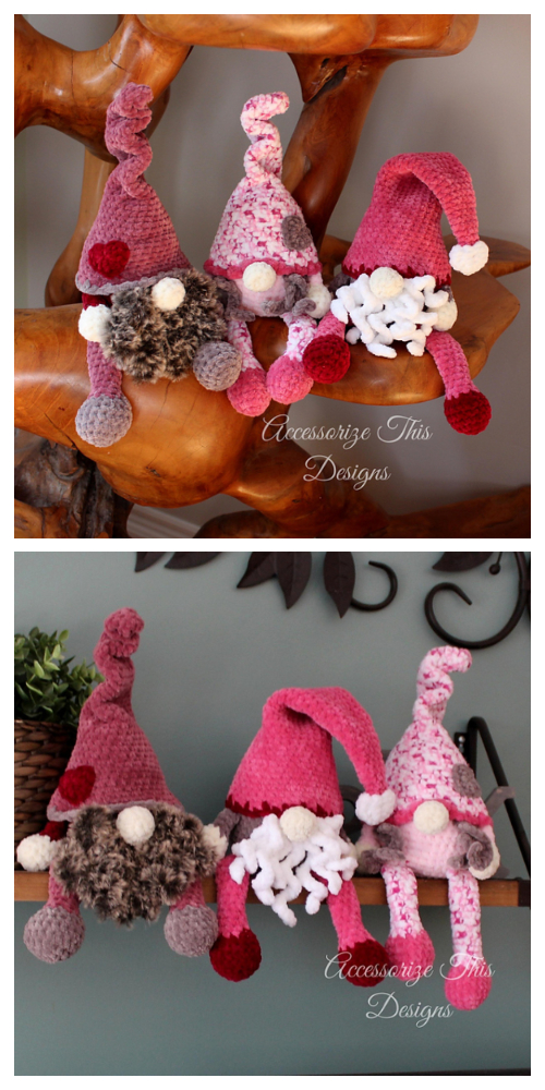 Crochet Gnomes Amigurumi Free Patterns