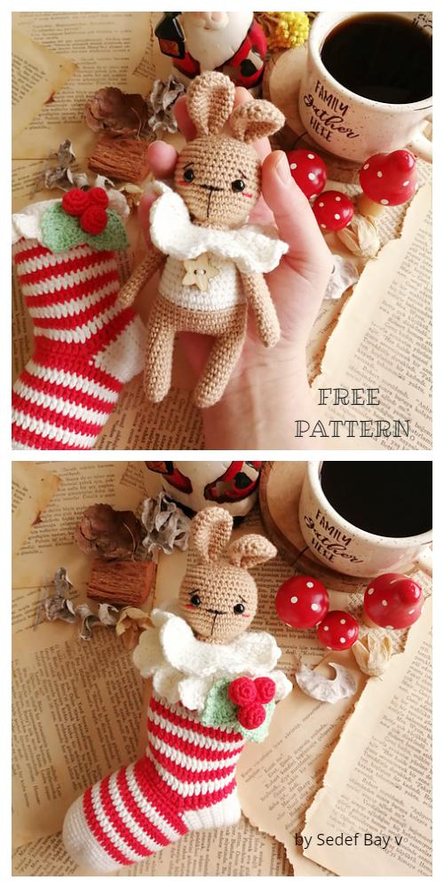 Crochet Ginger Bunny Amigurumi Free Pattern
