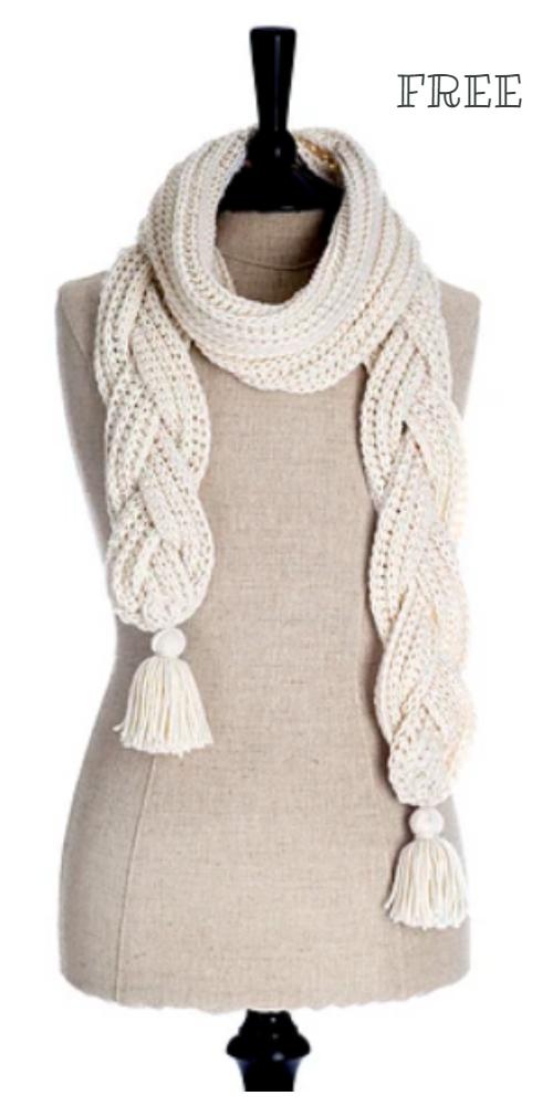 La Brioche Scarf Free Crochet Patterns