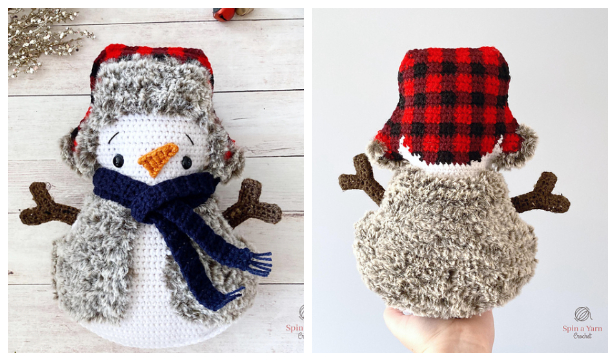 Cozy Crochet Snowman Amigurumi Free Patterns