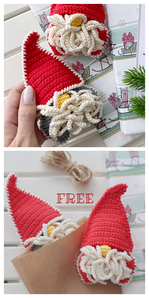 Crochet Christmas Gnomes Amigurumi Free Patterns