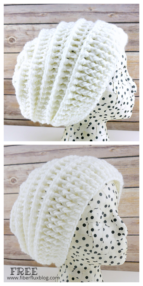 Quick Gift Slouch Hat Free Crochet Pattern