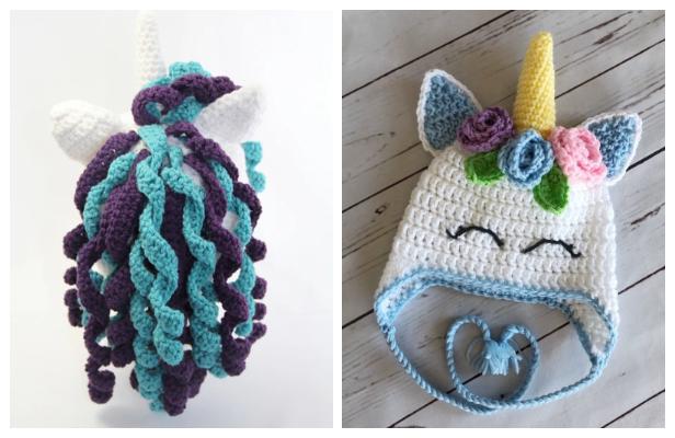 Unicorn Hat Free Crochet Patterns