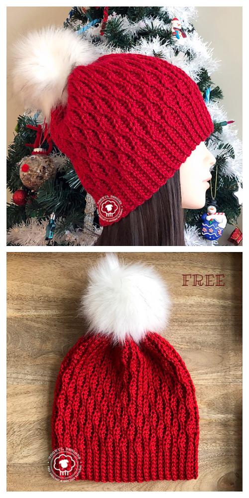 Wynn Beanie Hat Free Crochet Pattern