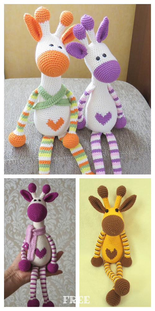 Crochet Giraffe Patterns You'll Love To Make -The WHOot | 1000x500
