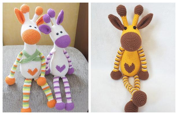 Amigurumi Giraffe Best Crochet Patterns | 400x616