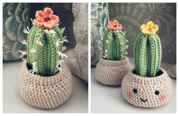 Cute Amigurumi Flowers Free Crochet Patterns | 400x616