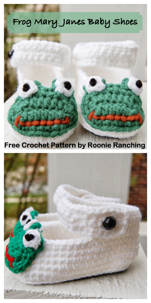 Baby Frog Booties Free Crochet Patterns