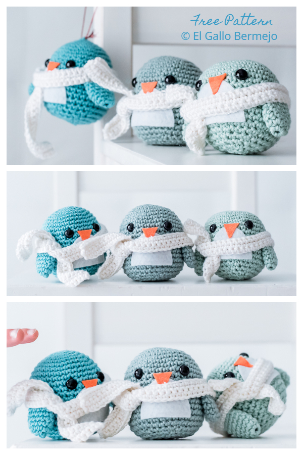 Crochet Little Penguin Amigurumi Free Patterns