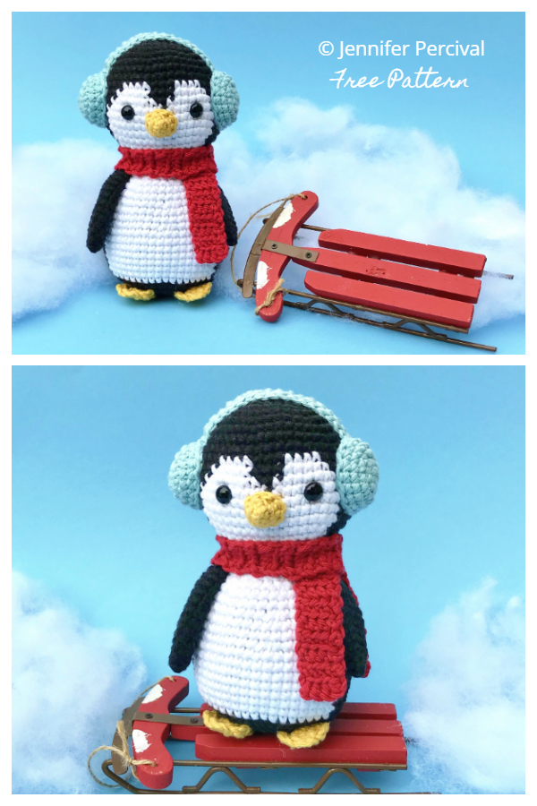 Crochet Chilly the Penguin Amigurumi Free Patterns