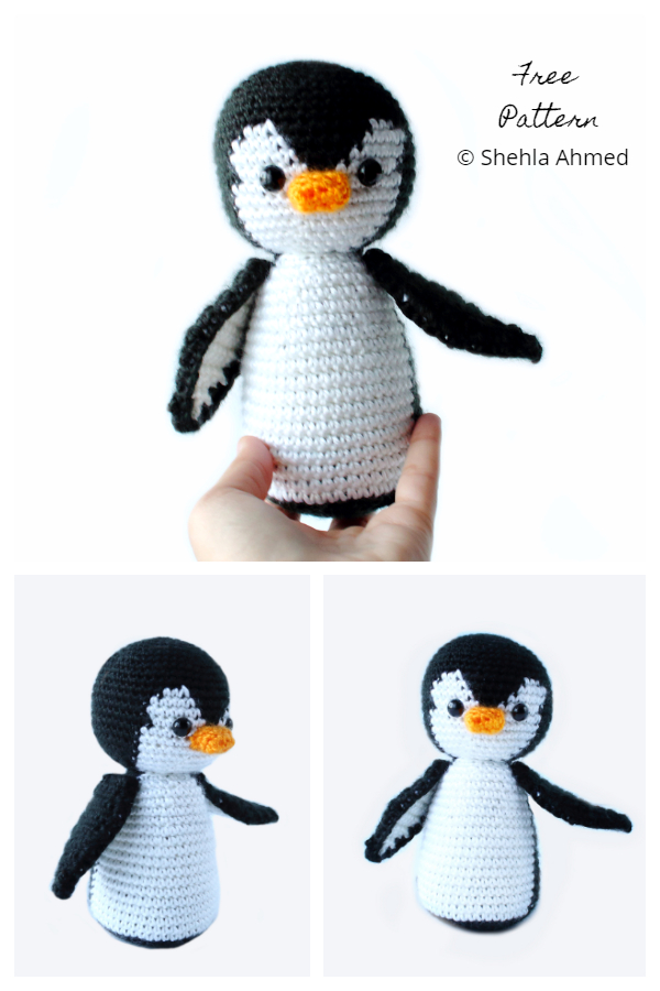 Crochet Penelope the Penguin Amigurumi Free Patterns