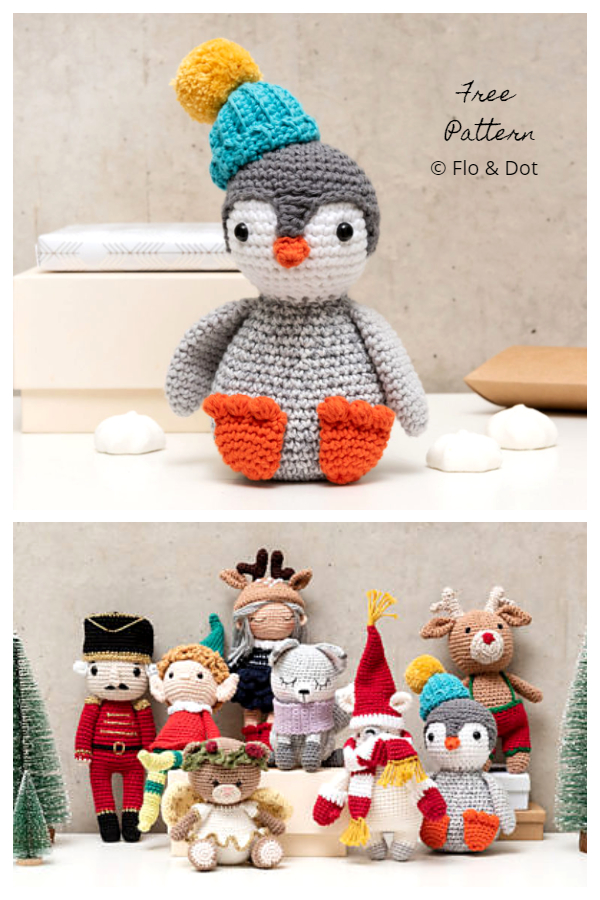 Crochet Holiday Penguin Amigurumi Free Patterns
