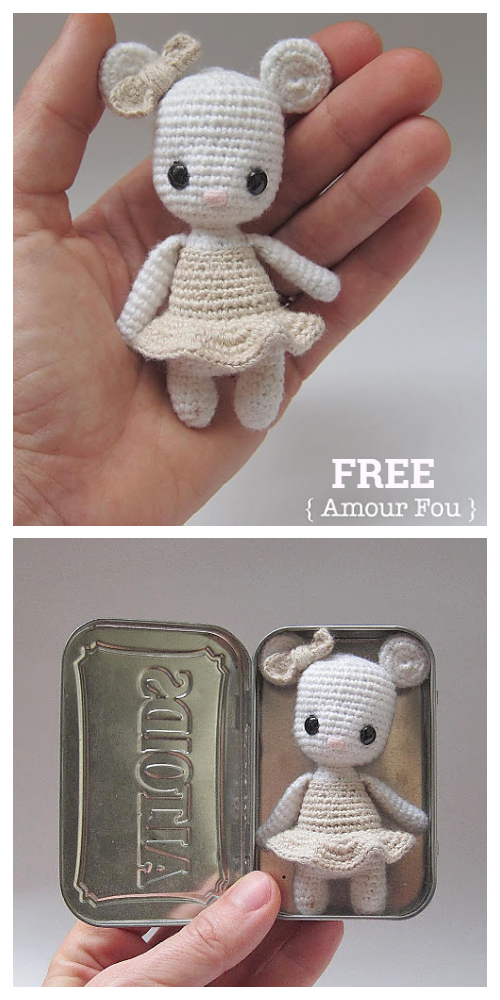 Free Tooth Fairy Crochet Pattern - Hooked On Patterns | 1000x500