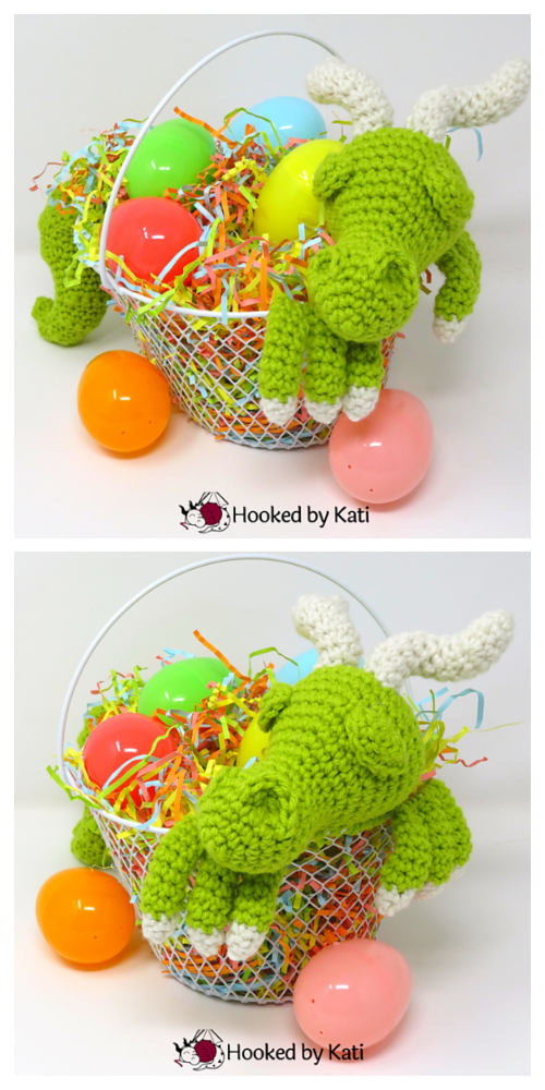 Easter Basket Dragon Amigurumi Free Patterns