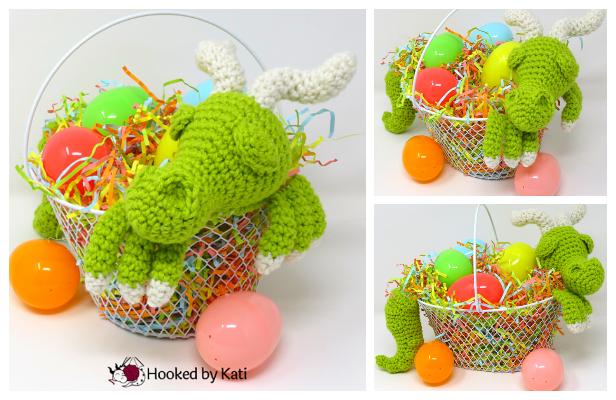 Easter Basket Dragon Amigurumi Free Patterns
