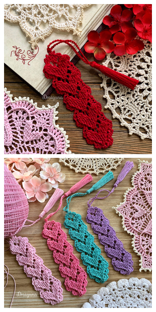 Higher Love Bookmark Free Crochet Patterns