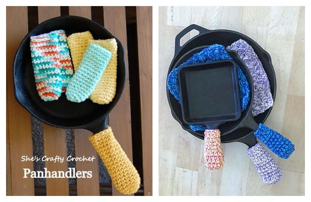 Iron Pan Handle Covers Free Crochet Patterns