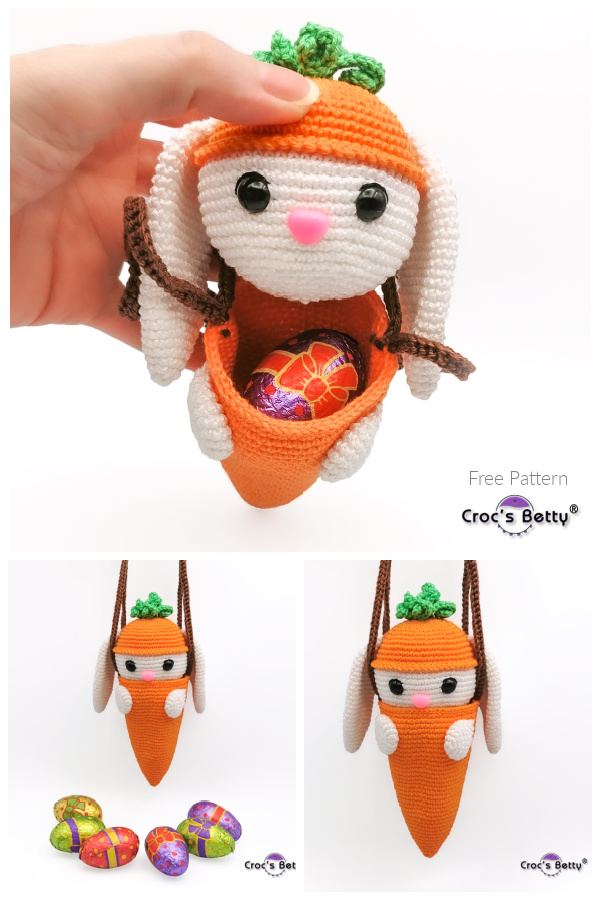 Easter Bunny Bag Free Crochet Patterns