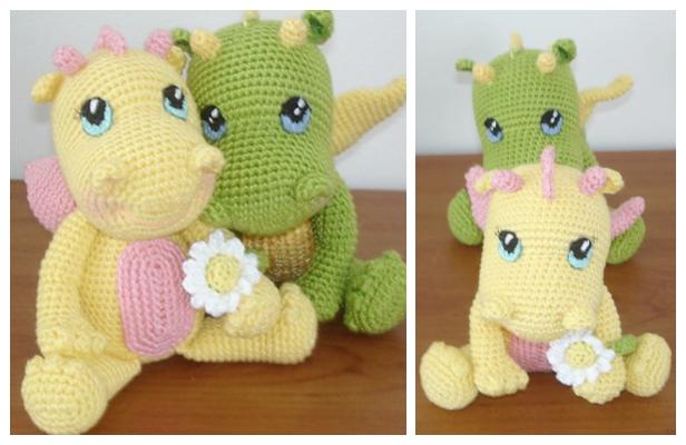 Crochet BB Dragon Amigurumi Free Patterns