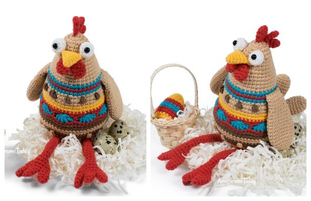 Crochet Chicken Amigurumi Free Patterns