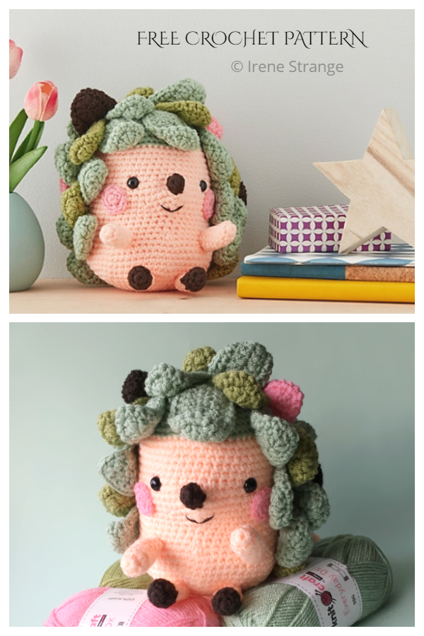 Crochet Nugget The Hedgehog Amigurumi Free Patterns