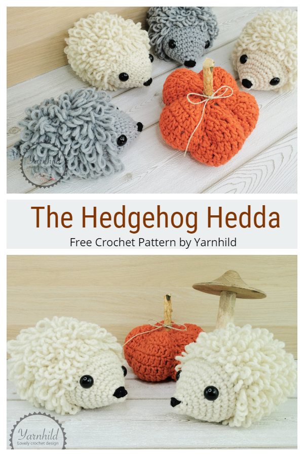 Crochet The Hedgehog Hedda Amigurumi Free Pattern