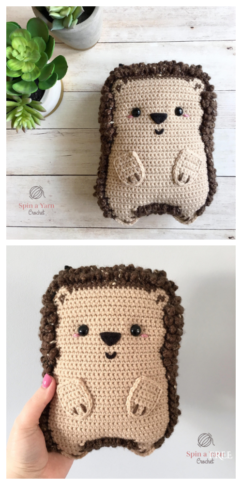 Crochet Chubby Hedgehog Amigurumi Free Patterns