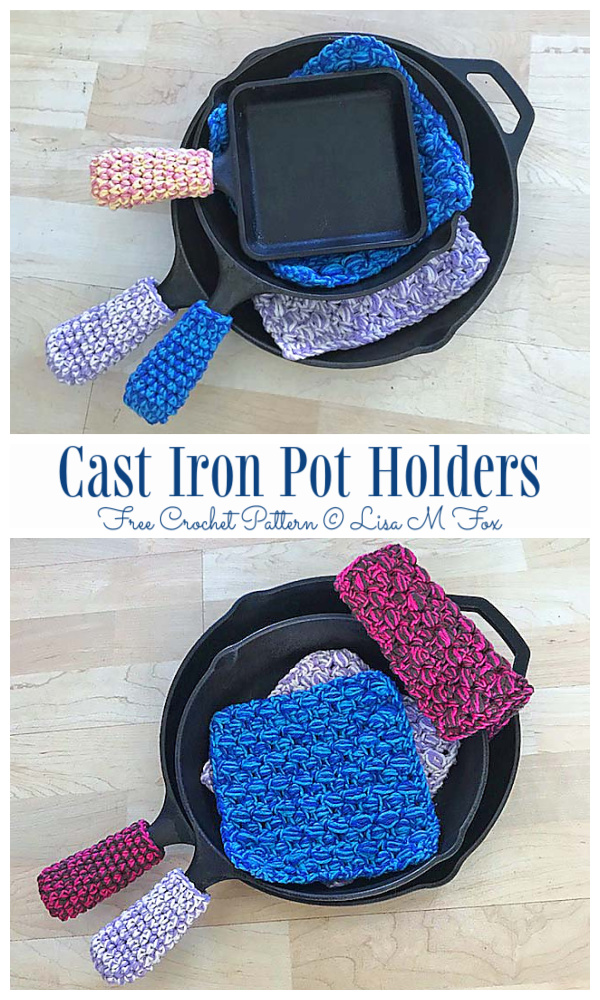 Pan Handle Covers Free Crochet Patterns