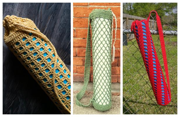 Yoga Mat Bag Free Crochet Patterns