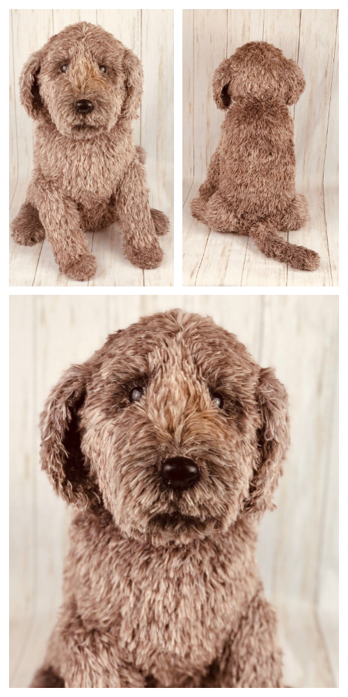 Amigurumi Furry Poodle Dog Crochet Patterns