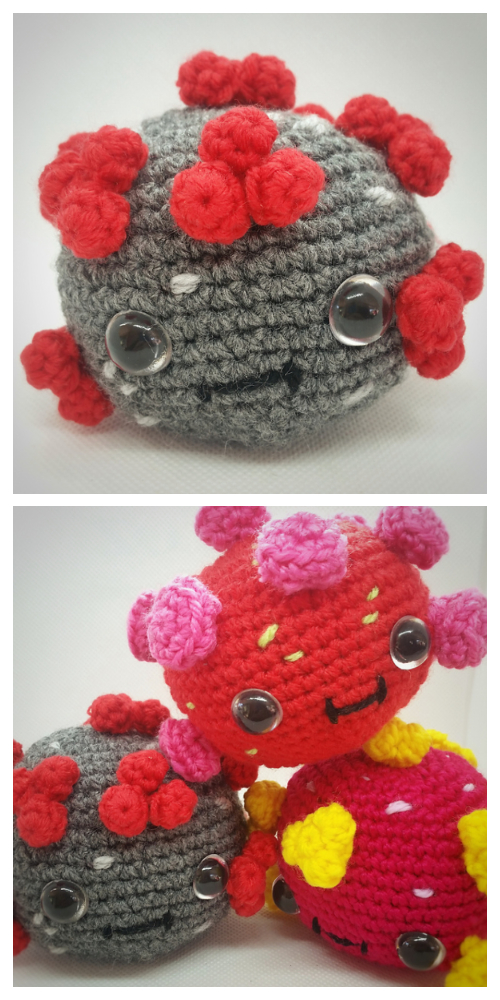 Crochet Coronavirus Amigurumi Free Patterns & Paid
