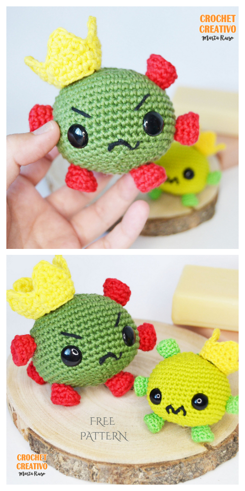 crochet fruits and veggies Archives ⋆ Crochet Kingdom (23 free ... | 1000x500