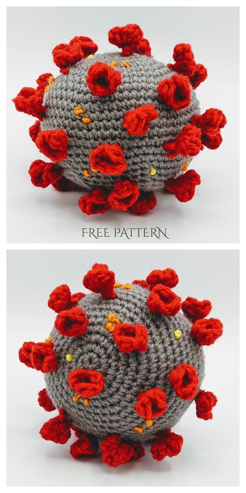 Crochet Coronavirus Amigurumi Free Patterns