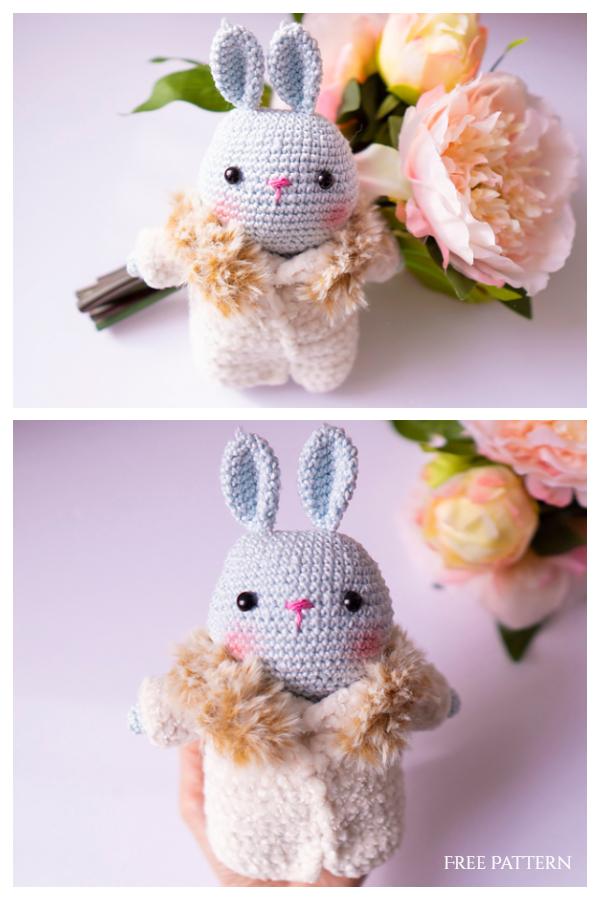 Amigurumi Spring Luna Bunny Free Crochet Patterns
