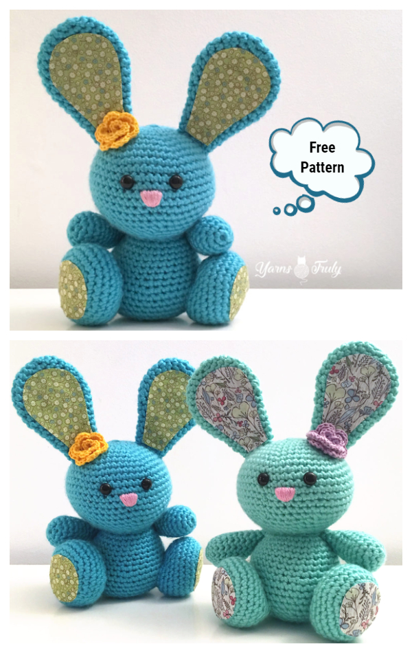 Crochet Spring Bunny Amigurumi Free Patterns